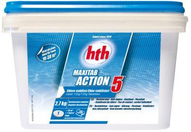 CHLORE ACTION 5 MAXITAB 135g- 2,7KG
